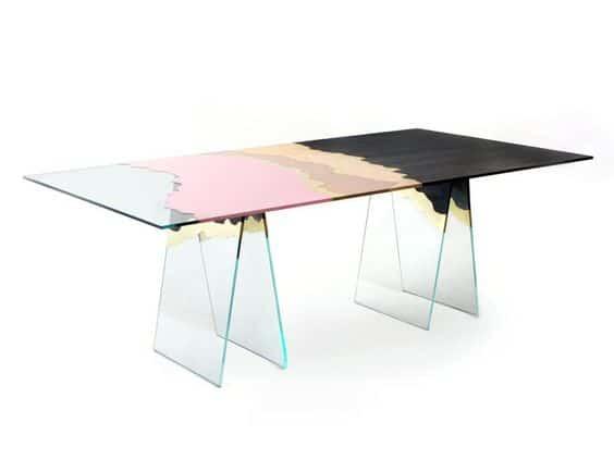 Patricia Urquiola -glas-italia-coloured-glass-table-for-interiors