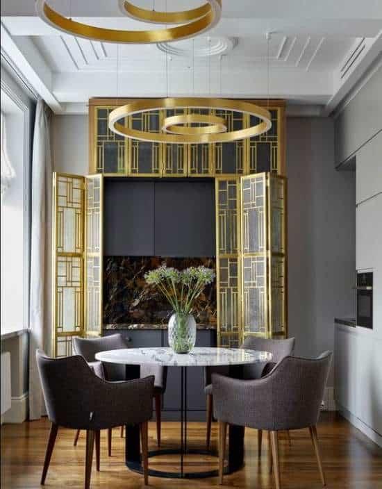 art deco-interior design style