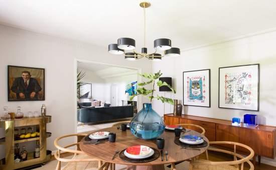 mid century modern interior design style