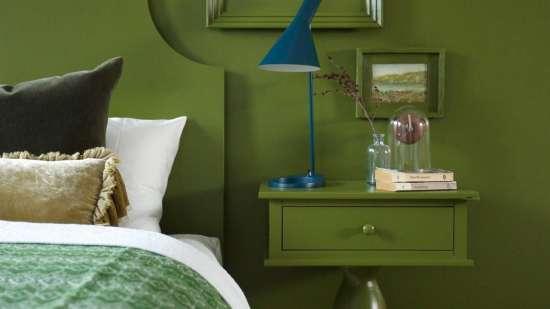 green-bedroom-decor-monochromatic