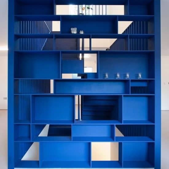 classic-blue-steel-staircase