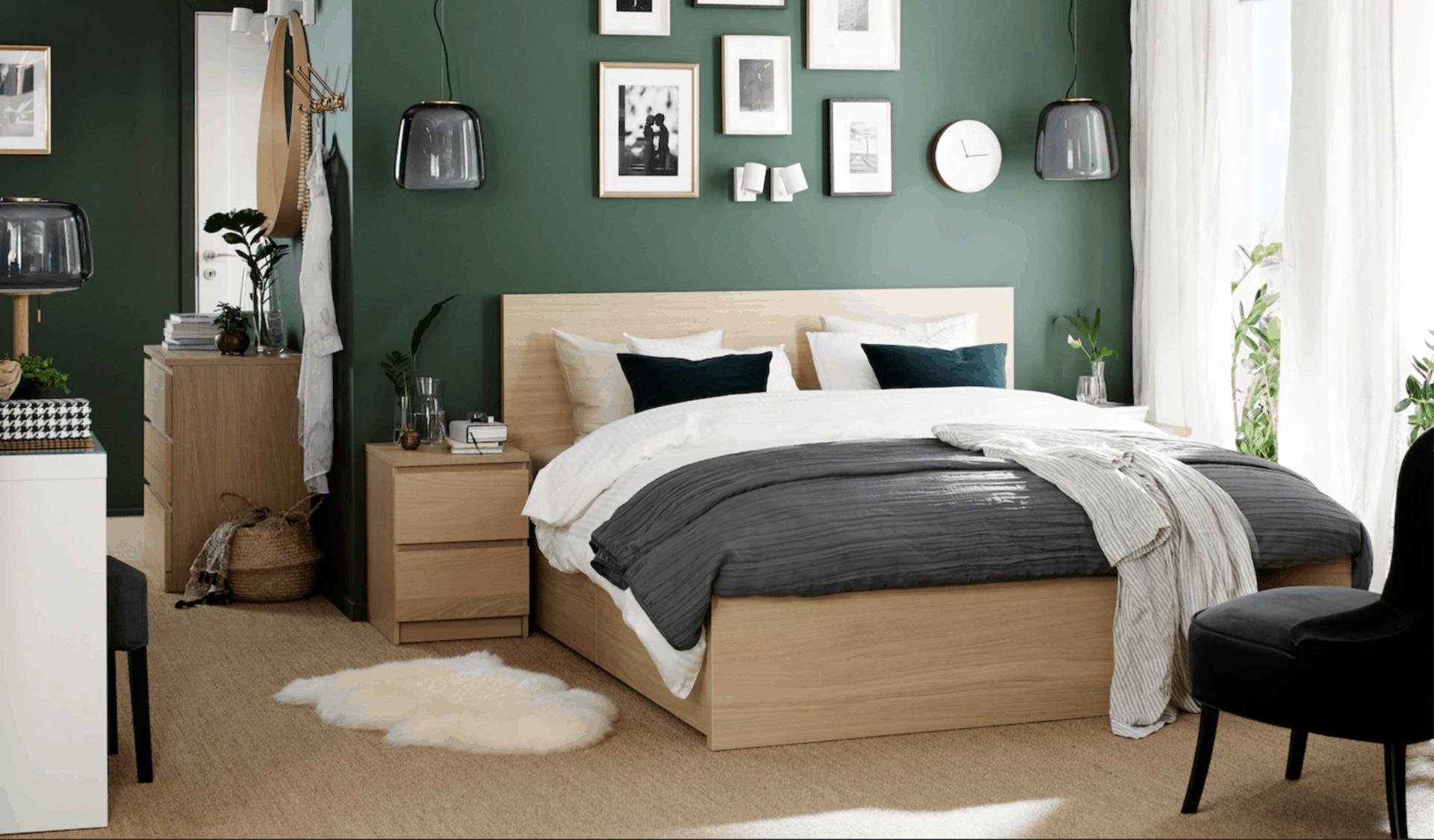 Bedroom look from IKEA